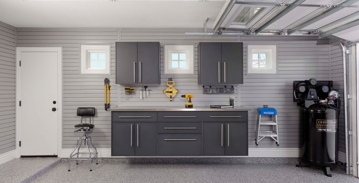Granite Workbench Stainless Steel Counter Gray Slatwall Smoke Floor More Props Arcadia Mar 2013